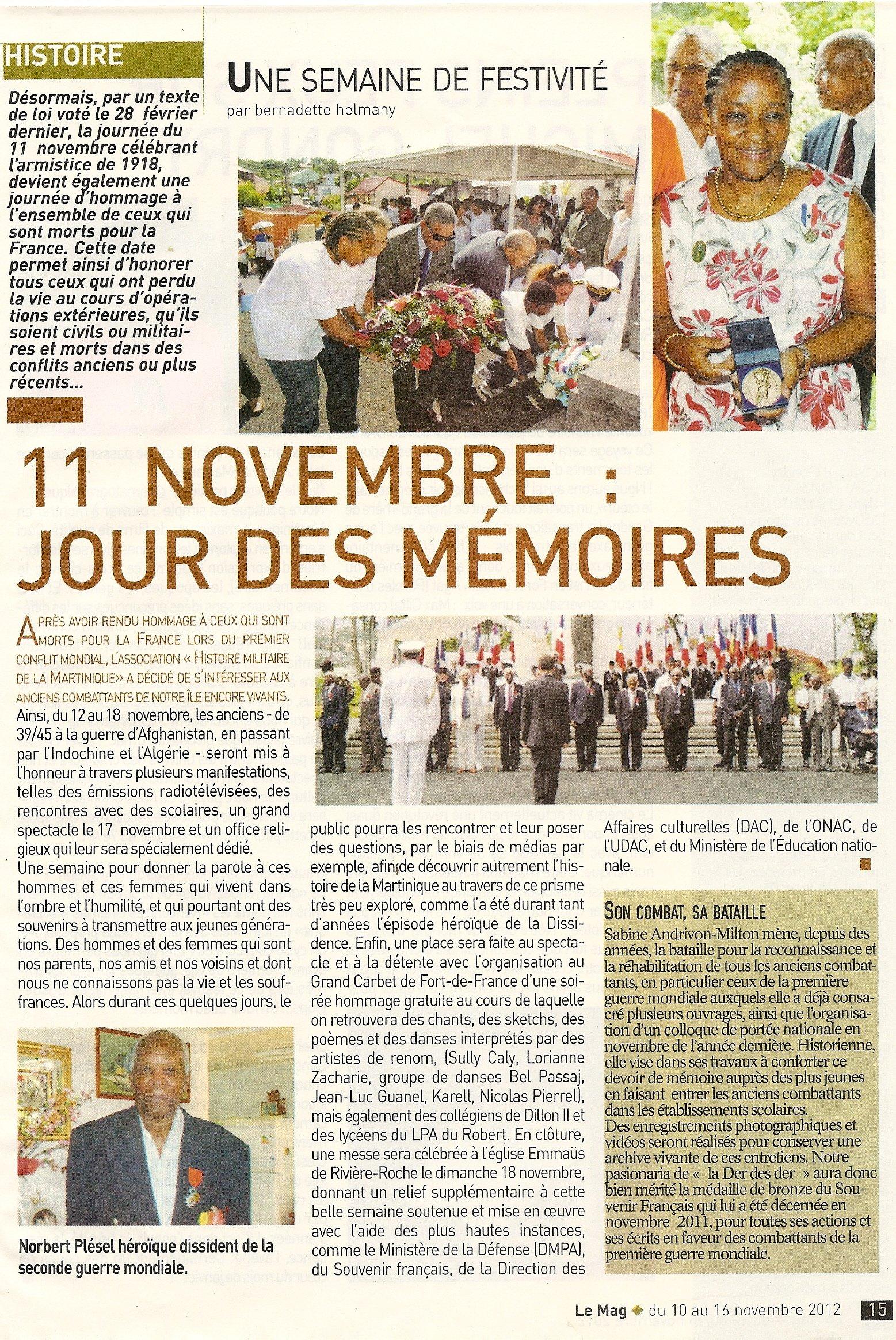 12-18 nov 2012, HOMMAGE AUX ANCIENS COMBATTANTS DE LA MARTINIQUE numerisation0001